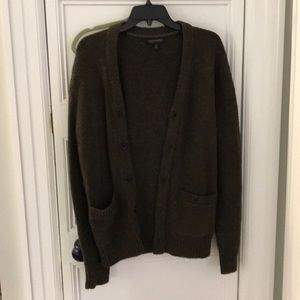 Banana Republic brown cardigan size m